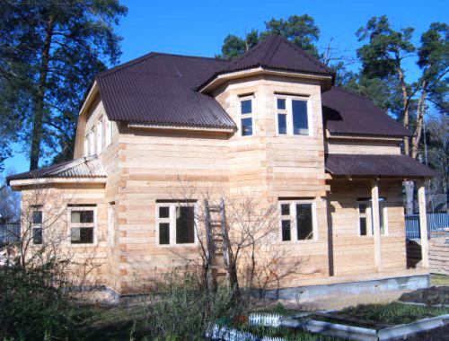 Дома из бруса одинцово дачный дом