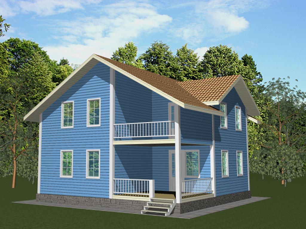 Кирпичные дома до 100 квм – Проекты кирпичных домов и